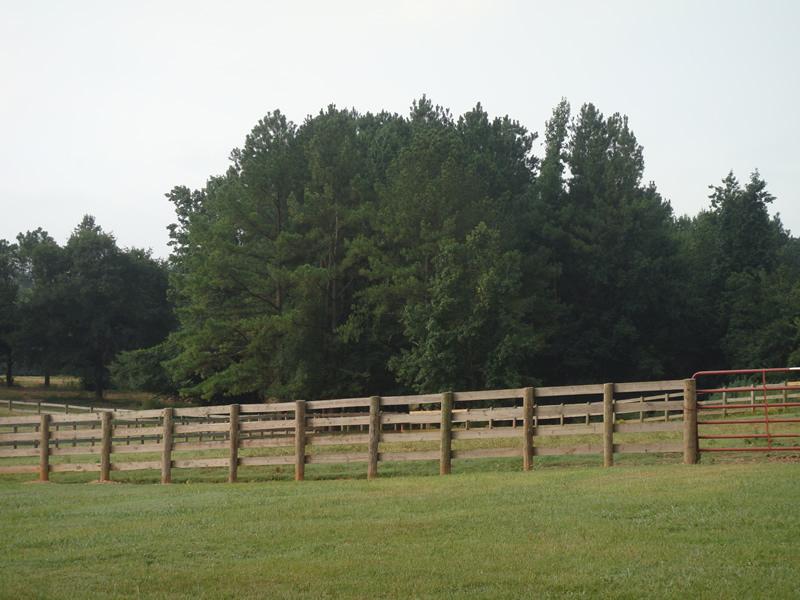 4 Board Fence