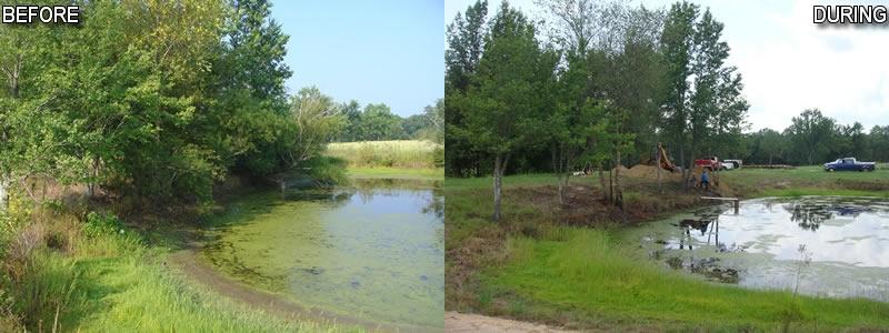 Pond maintenance for Pond maintenance