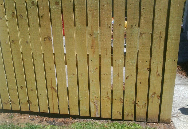 Privacy Fencing – Picket Style