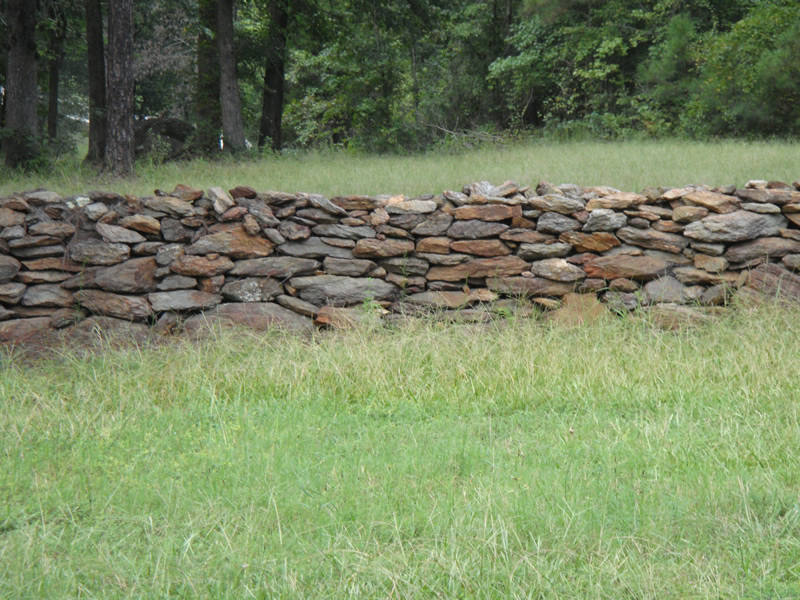 Stone Wall Fencing
