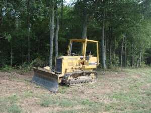 Great for Clearing old fences, Pushing up underbrush and trees up to 6 inches in diameter, Grading  and Blazing trails.